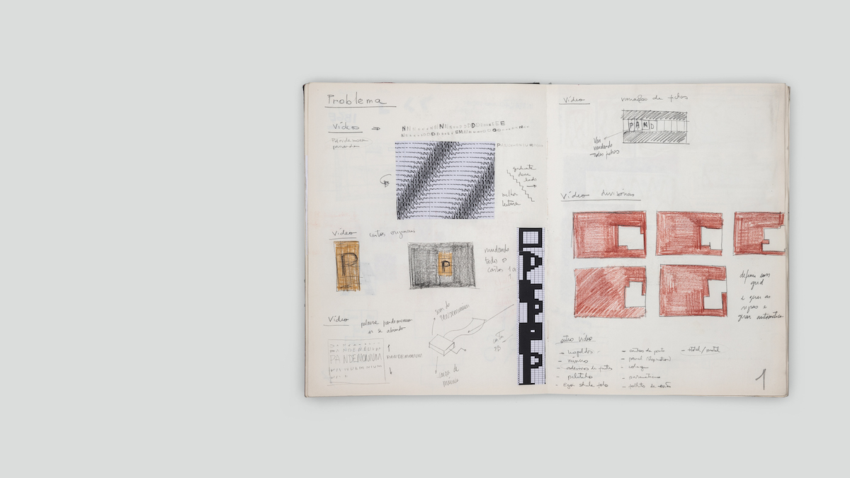 Typographic sketchbook research