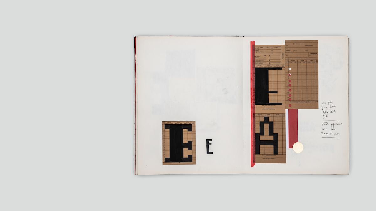 Typographic process experiment in Pandemonium