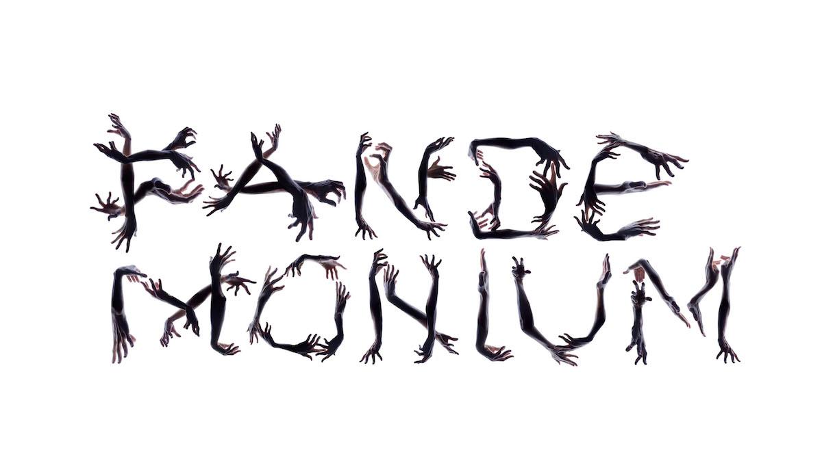 Pandemonium experimental typography piece