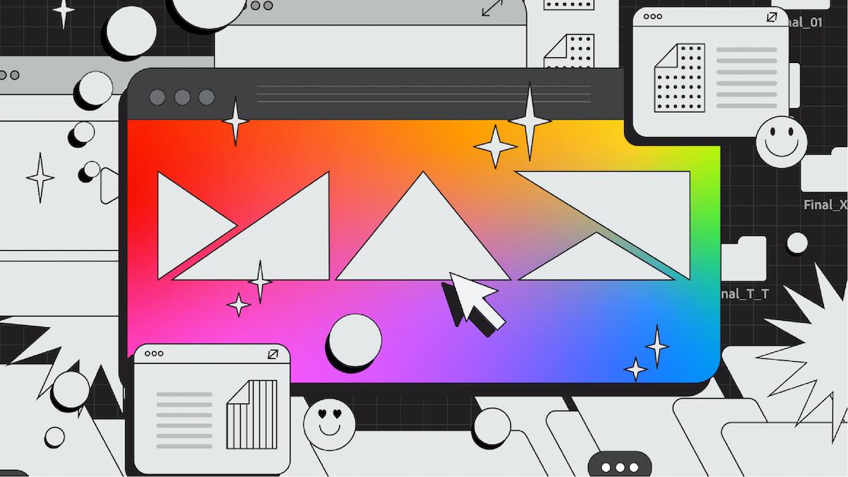 Adobe MAX logo visual asset, Evolution