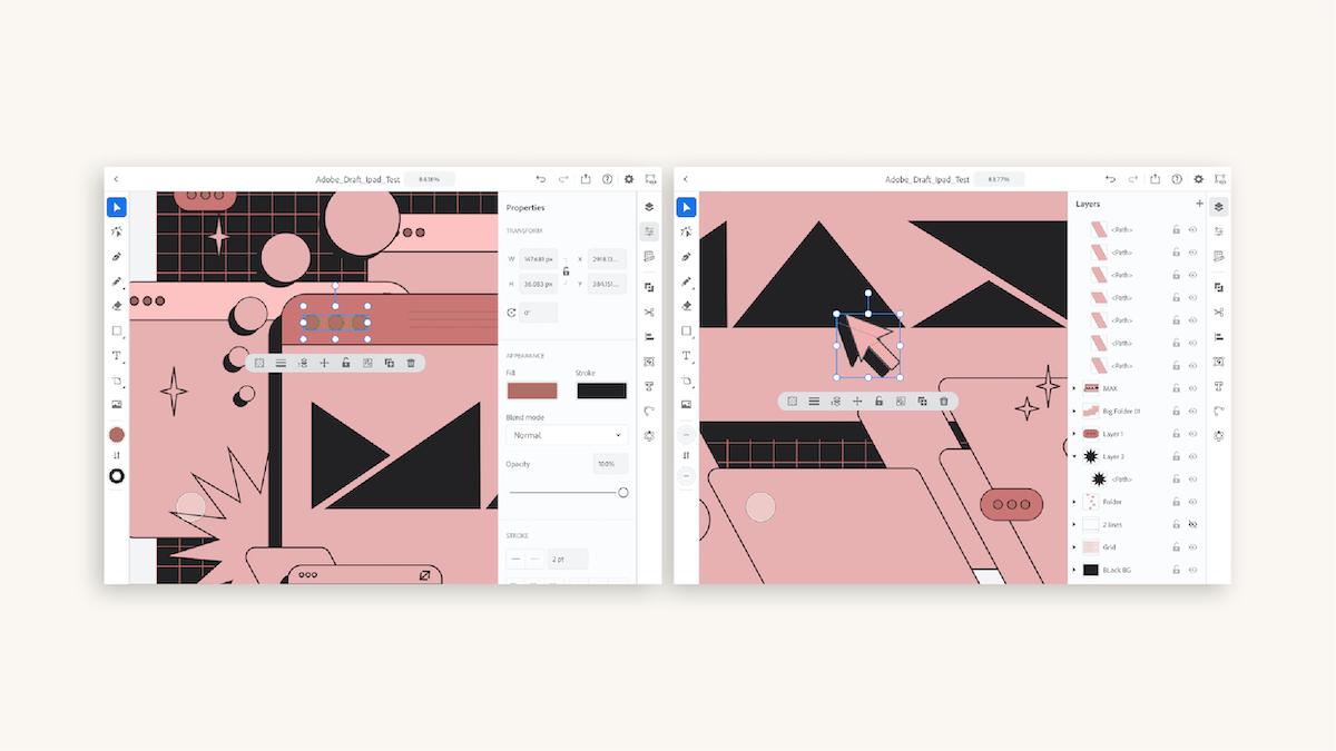 Adobe MAX logo visual asset, Evolution process