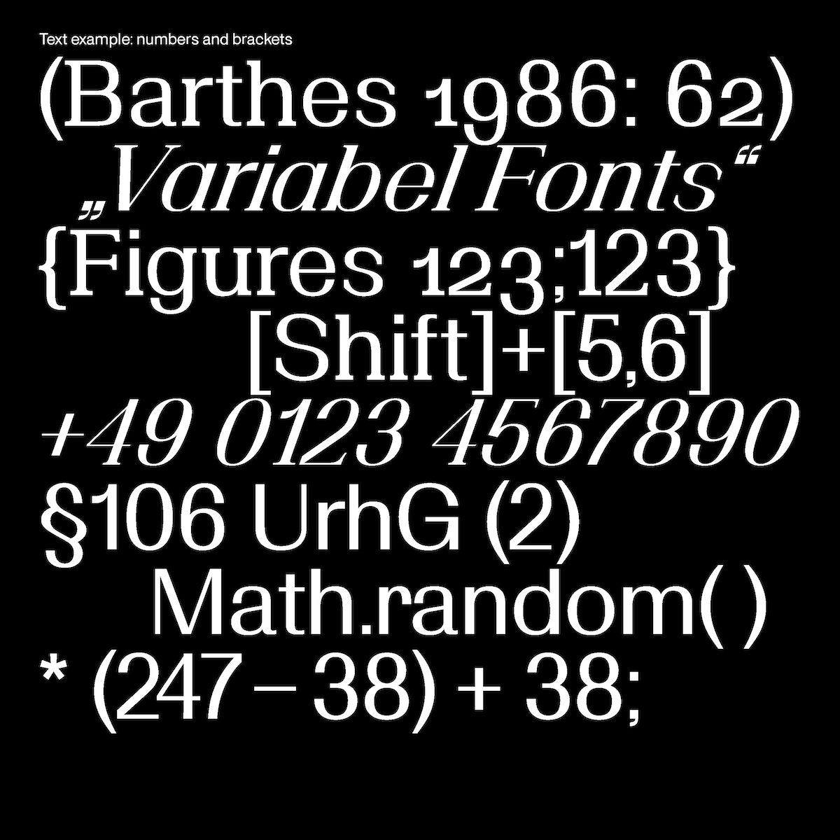 'Bagage' Variable Font