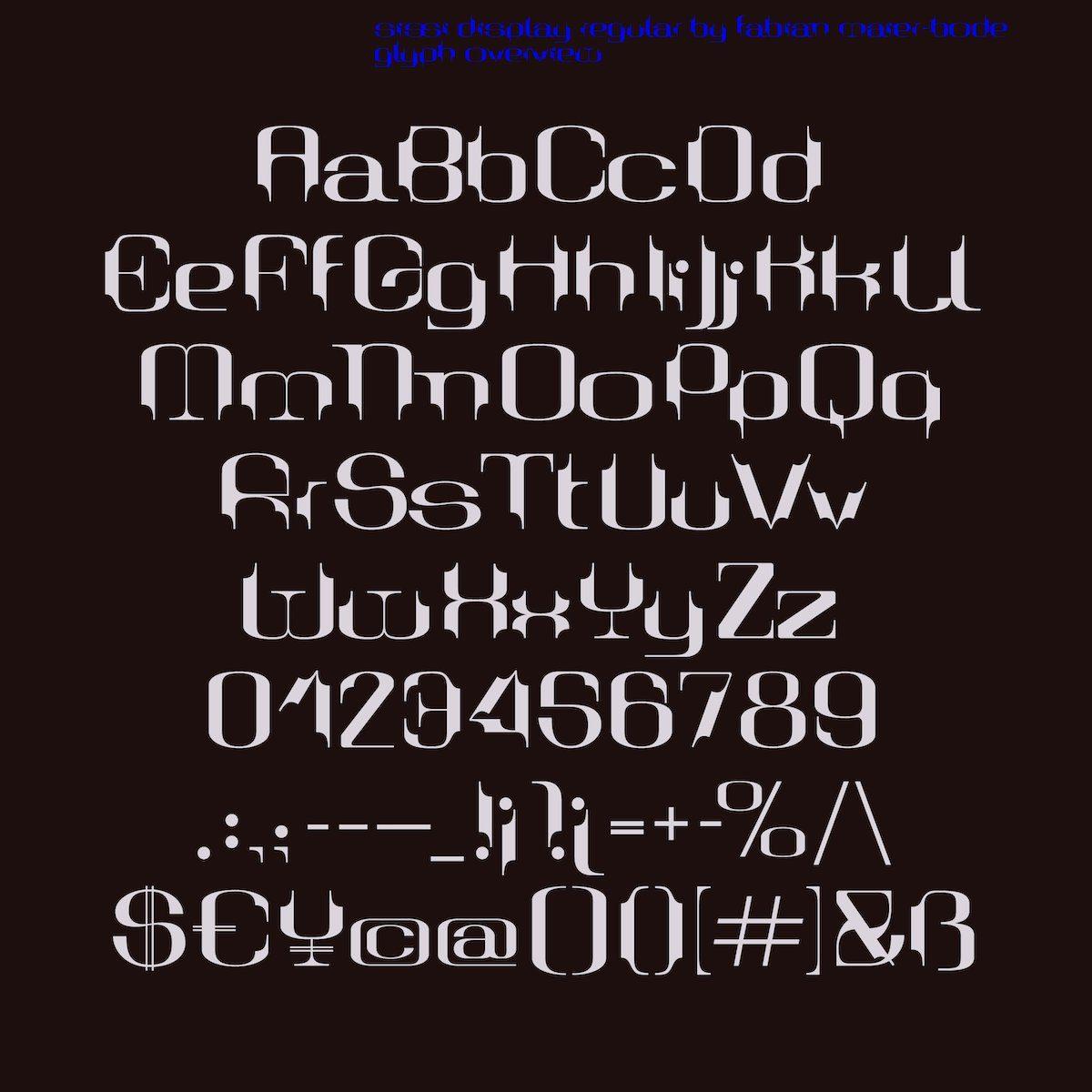 Sissi Display - Display Font
