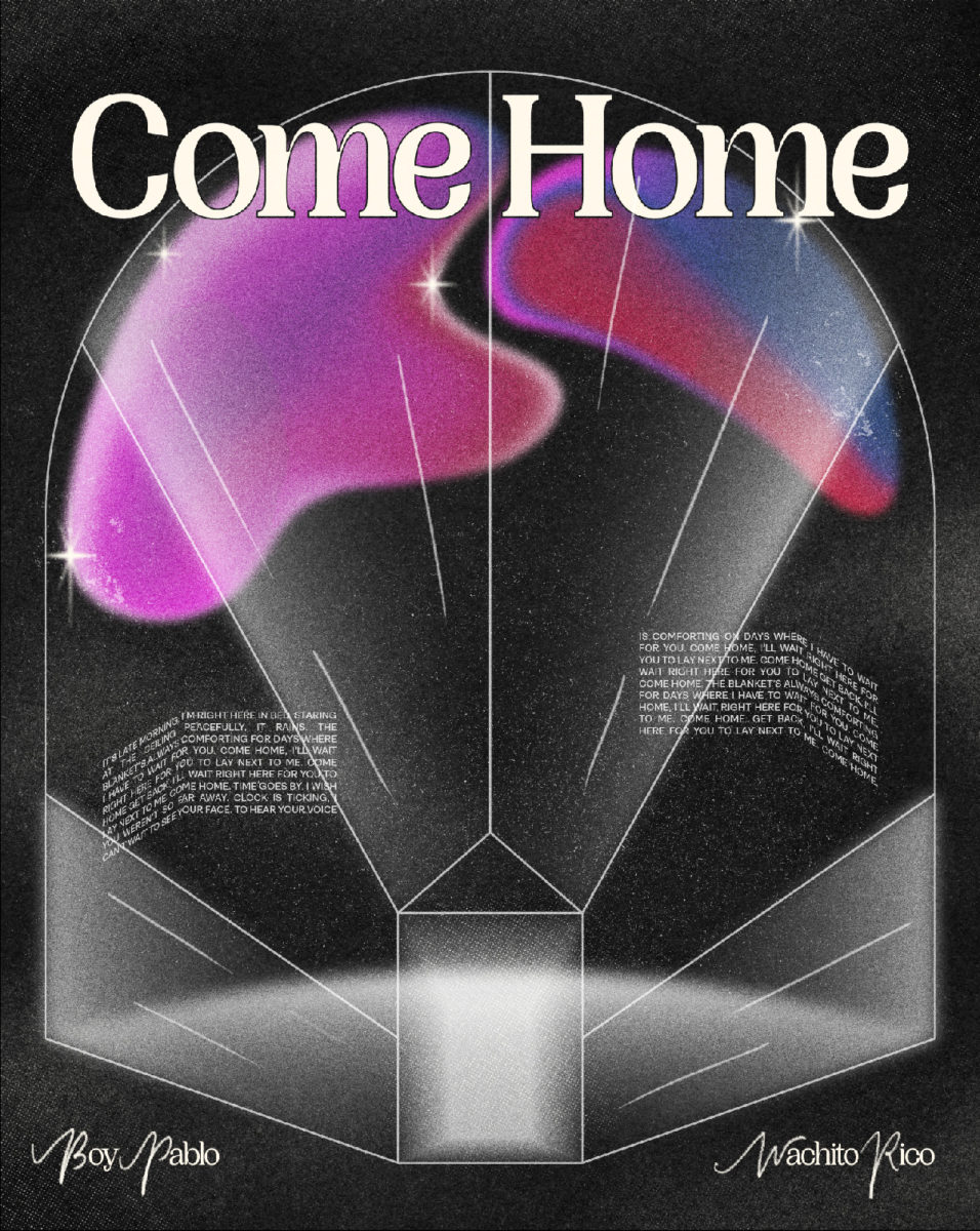 """""""Come Home"""" Typographic poster"""