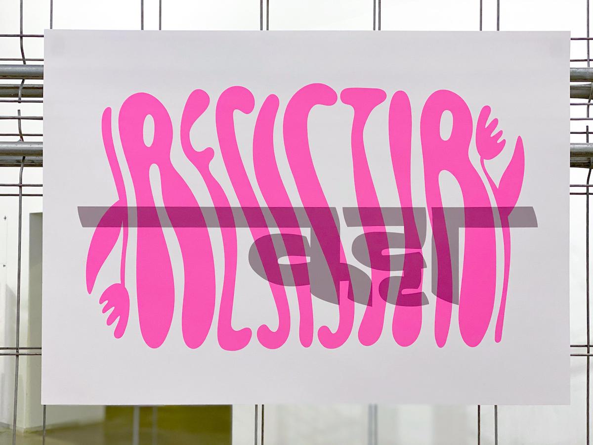 Across Borders Poster by Camila Rosa & Noopur Datye (Ek Type)