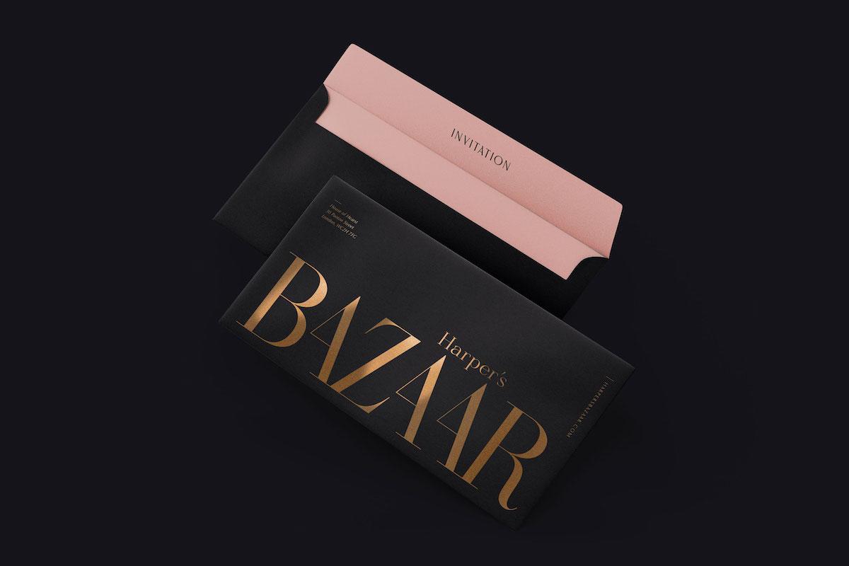Part of the Harper's Bazaar rebranding concept.