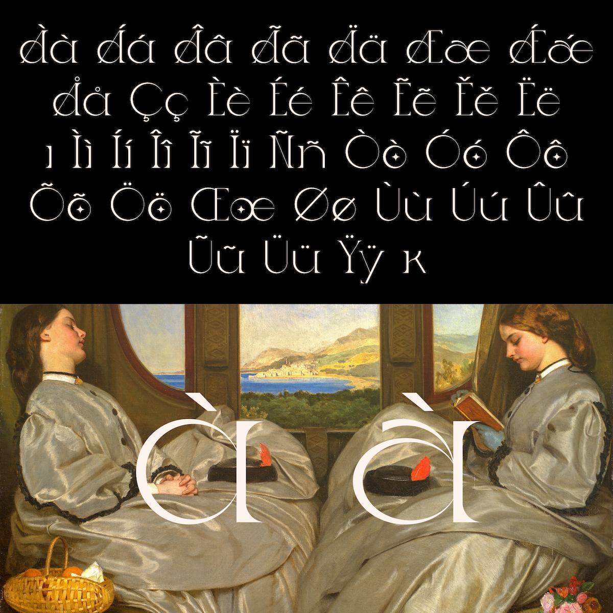 Ladybird Light diacritics