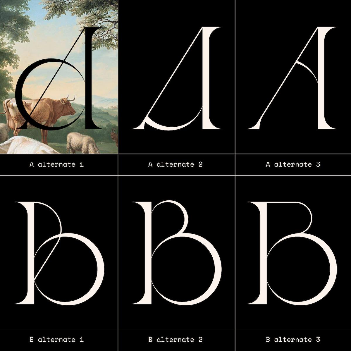 Ladybird Light font stylistic alternates