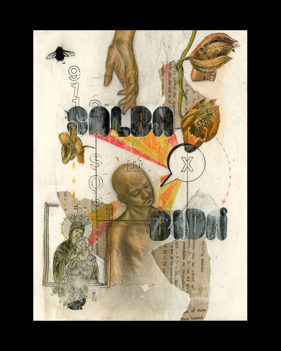 Salbabida Sans typeface in-use - work by visual artist, Rommel Joson