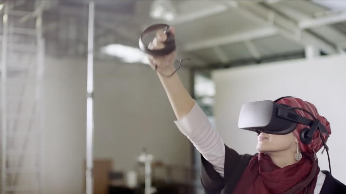 VR Painting Experience - Soraya Syed