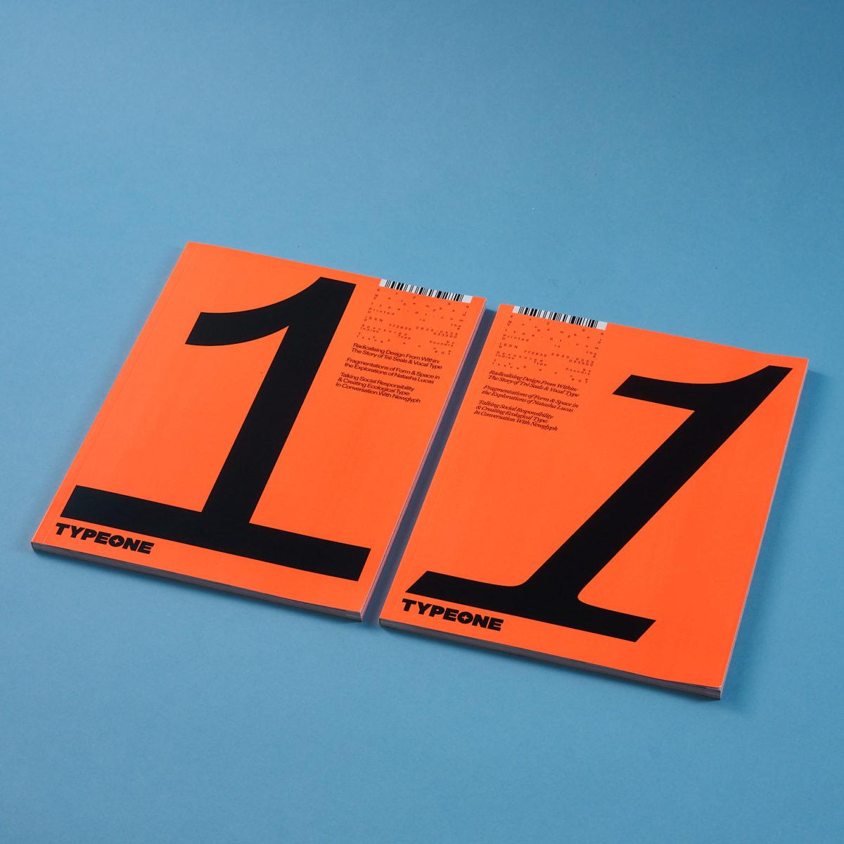 TYPEONE Magazine cover