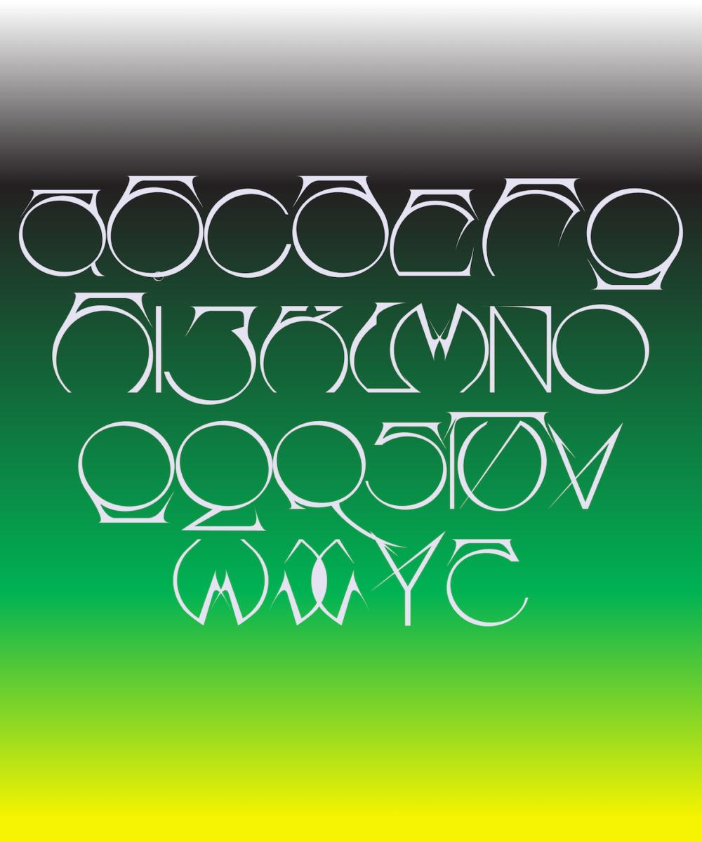 Boogue typeface