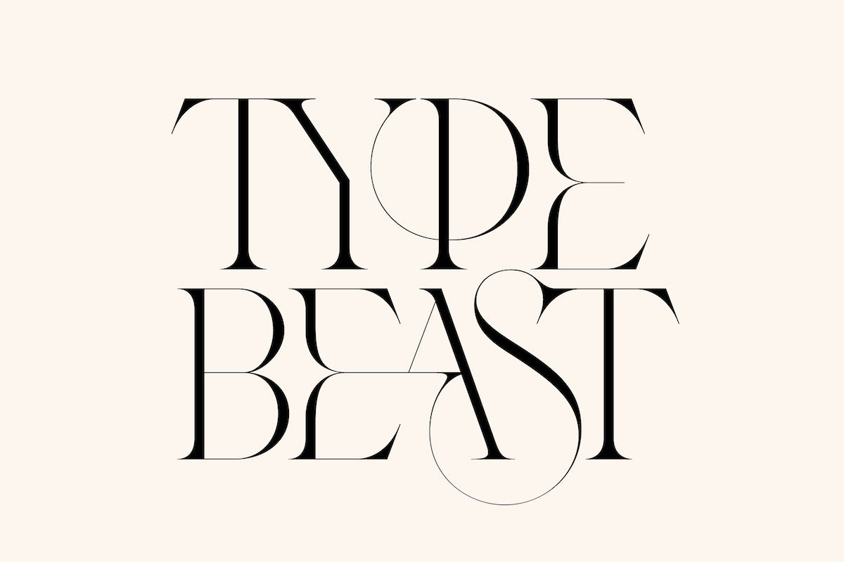 Ligature experiments from Type Beasts series