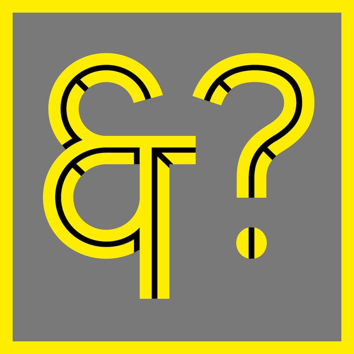 Achtung colour typeface