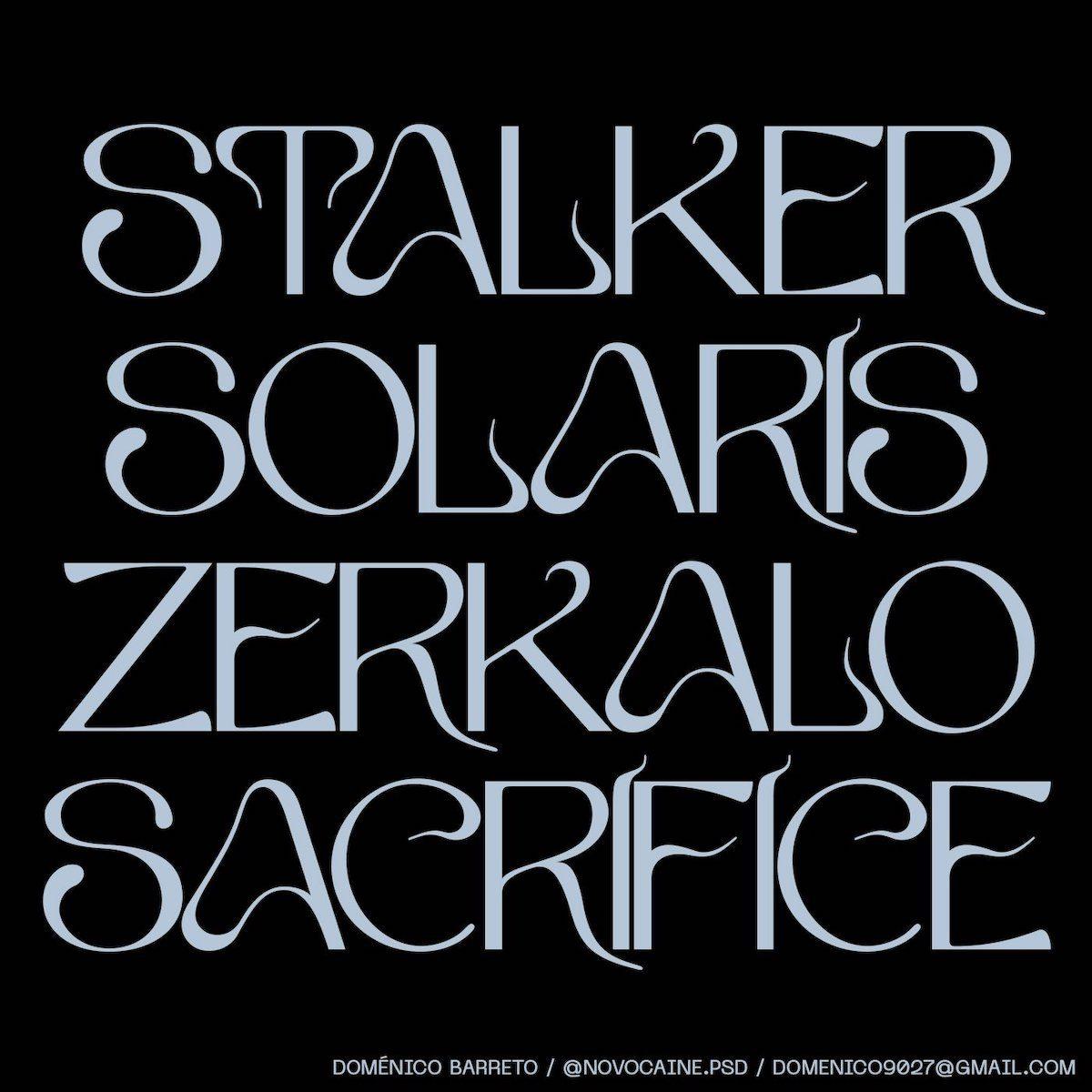 Tenebras Typeface