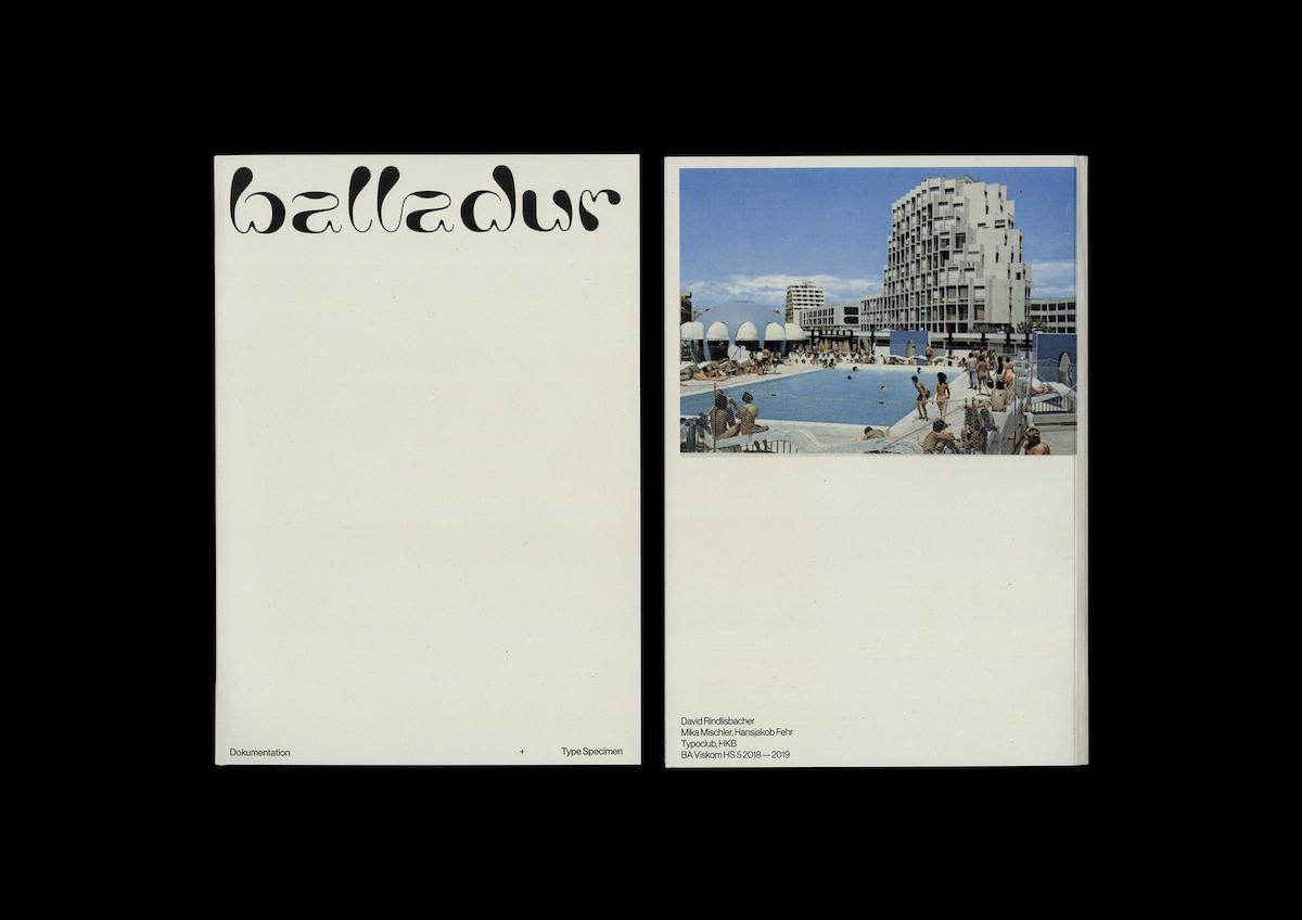 Balladur typeface