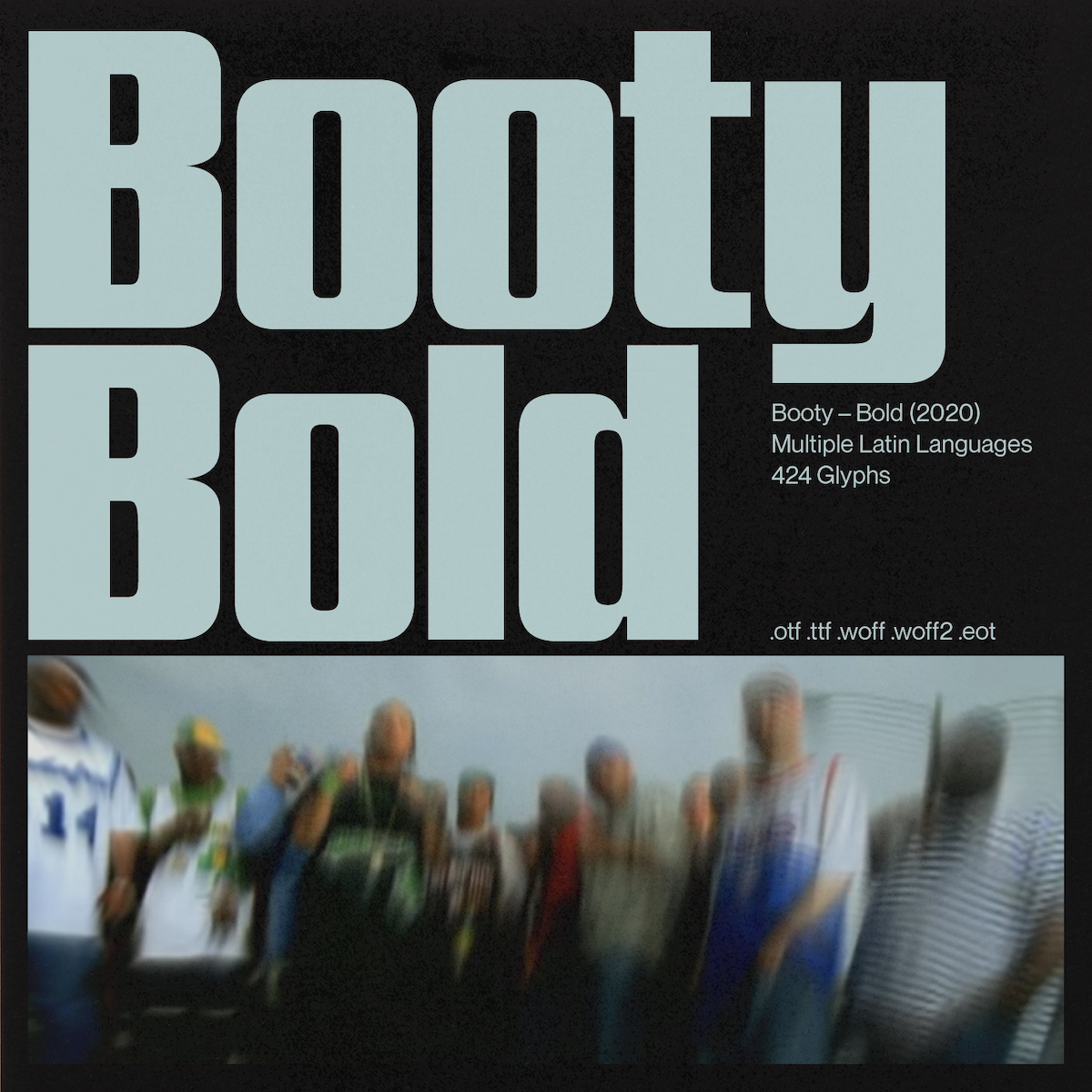 Booty Bold Font