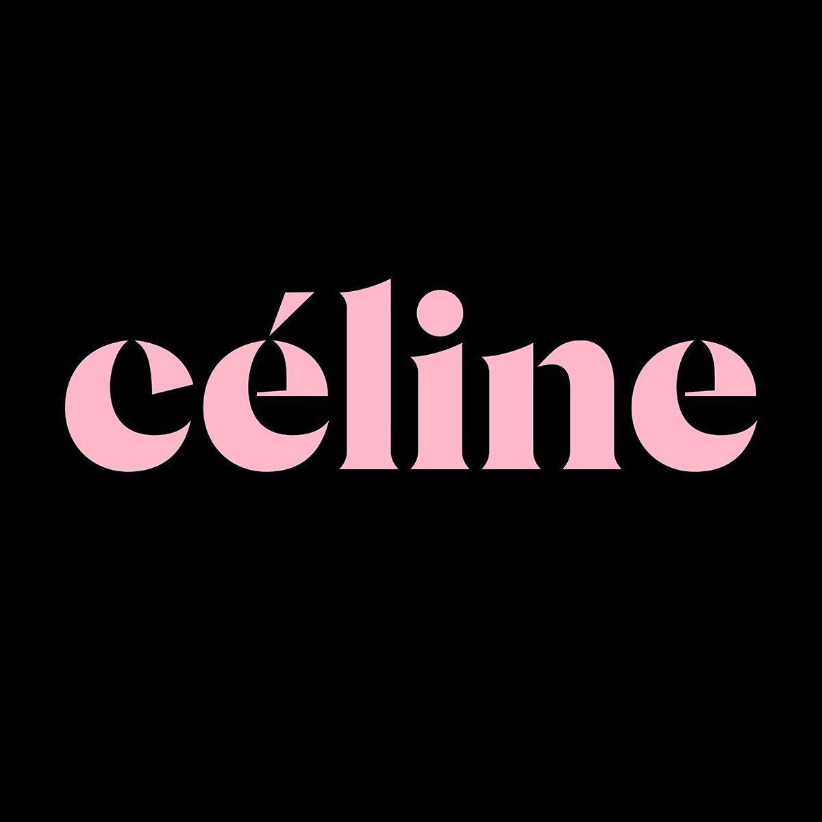Céline stencil display typeface