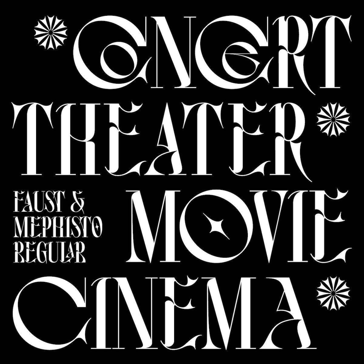 Faust Typeface