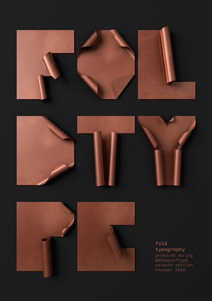 'Fold' 3D Type