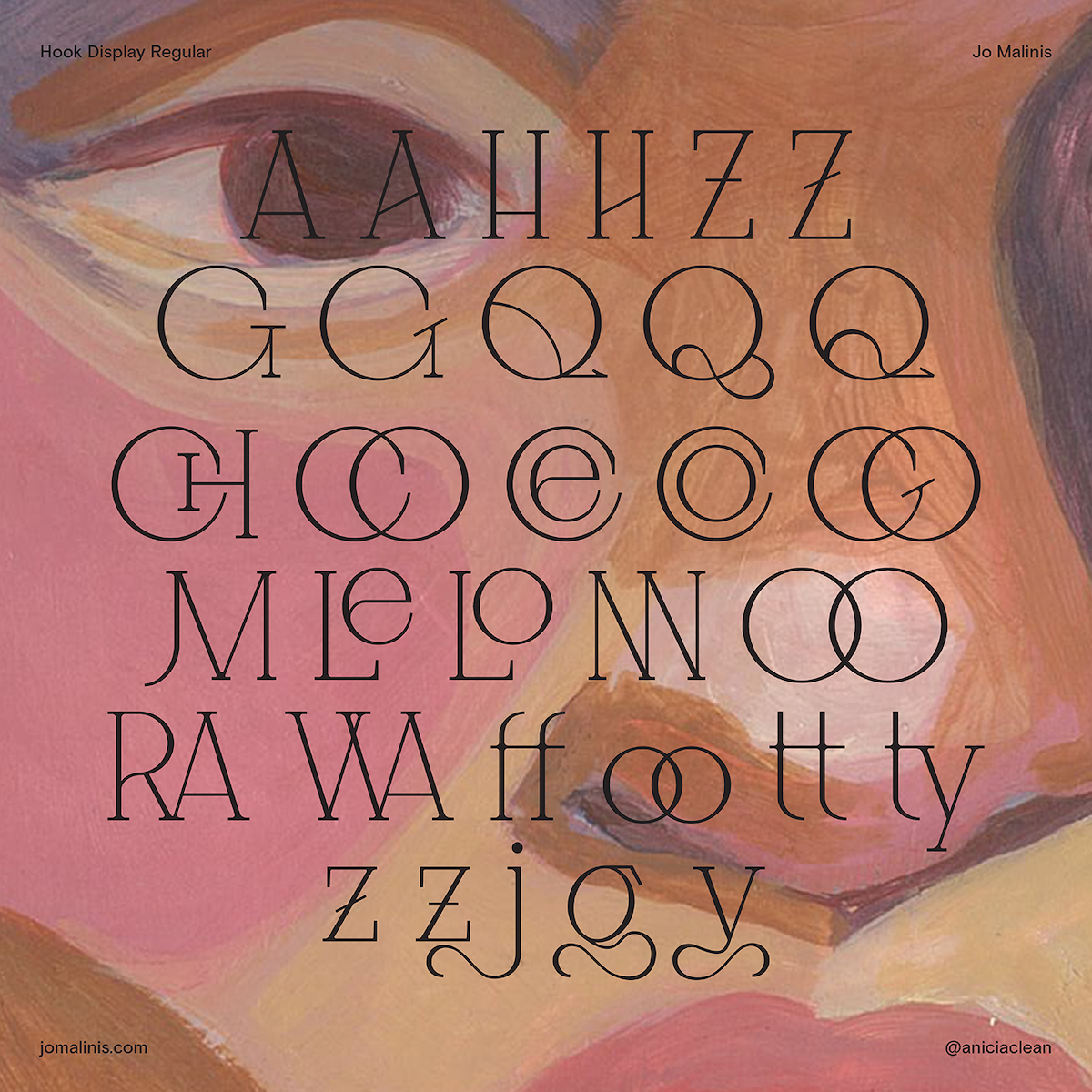 Hook Typeface