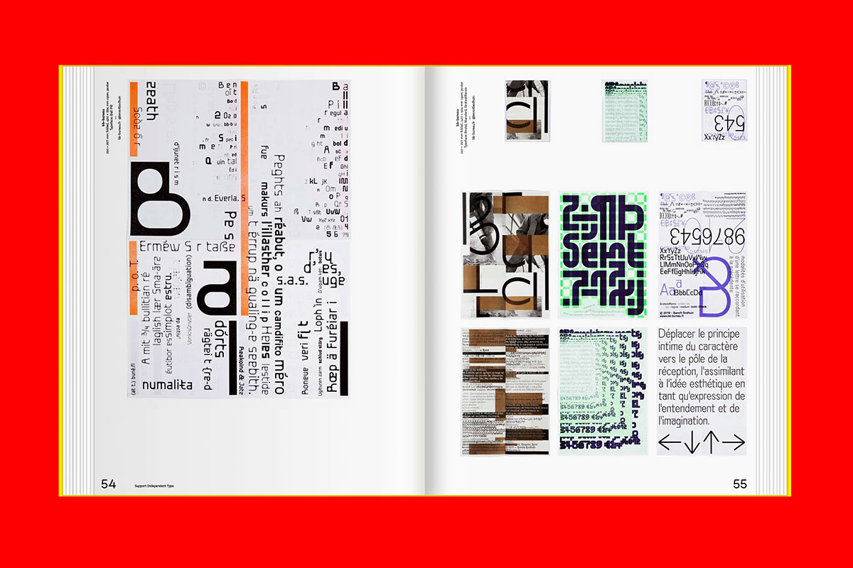 Support Independent Type by Lars Harmsen and Marian Misiak, published by Slanted, December 2020