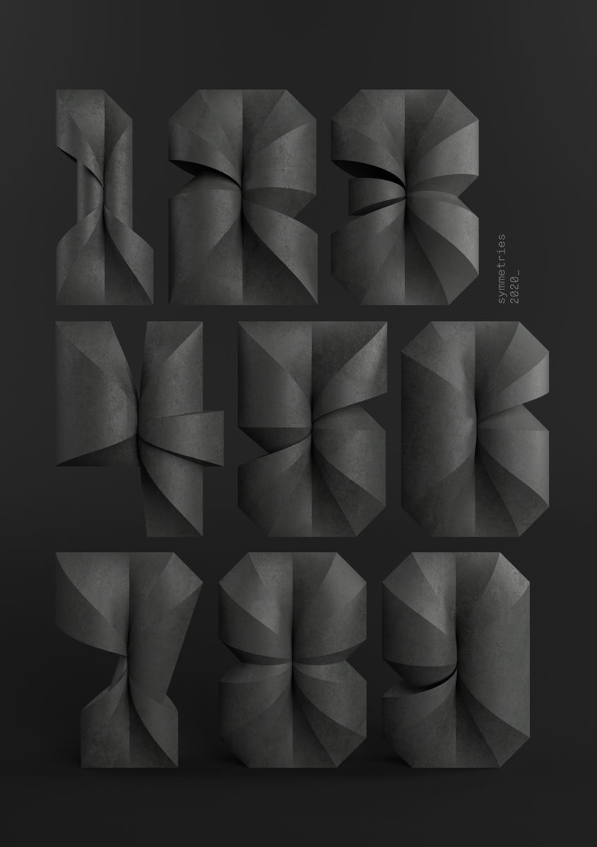 'Symmetries' 3D Type