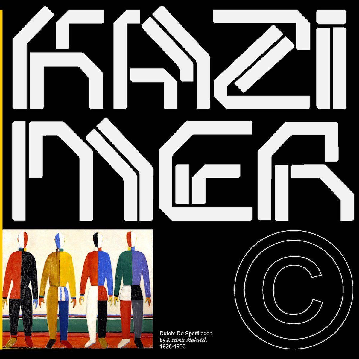 Kazimer Stencil Typeface