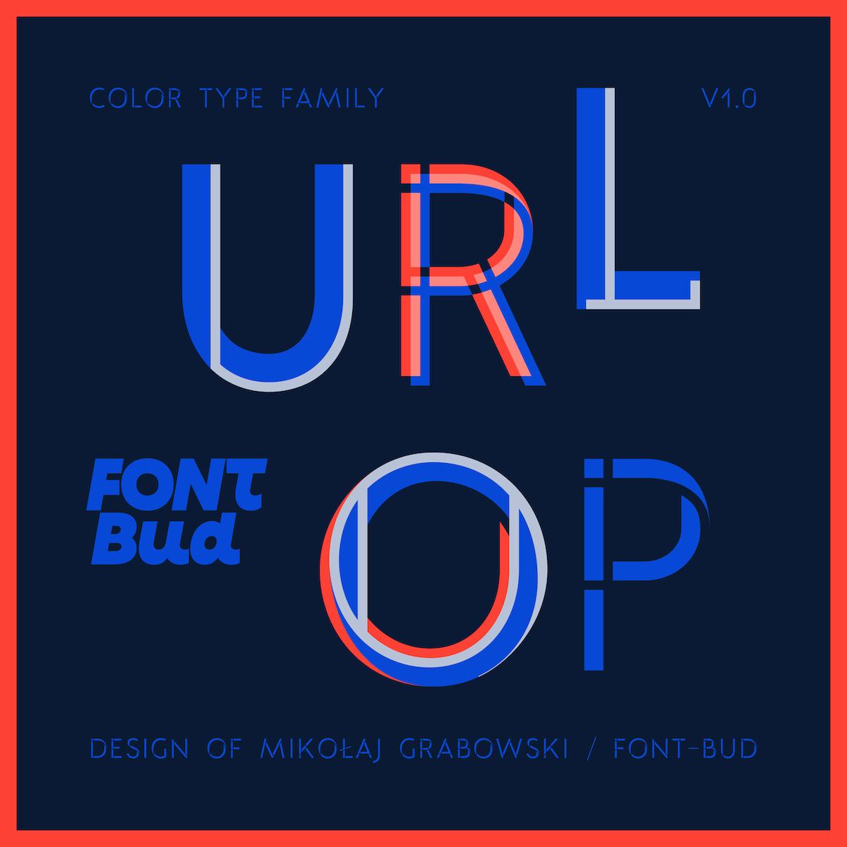 Urlop font family