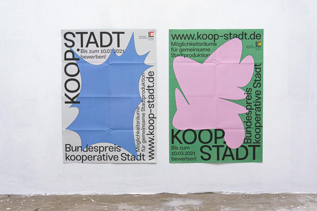 KOOP.STADT visual identity