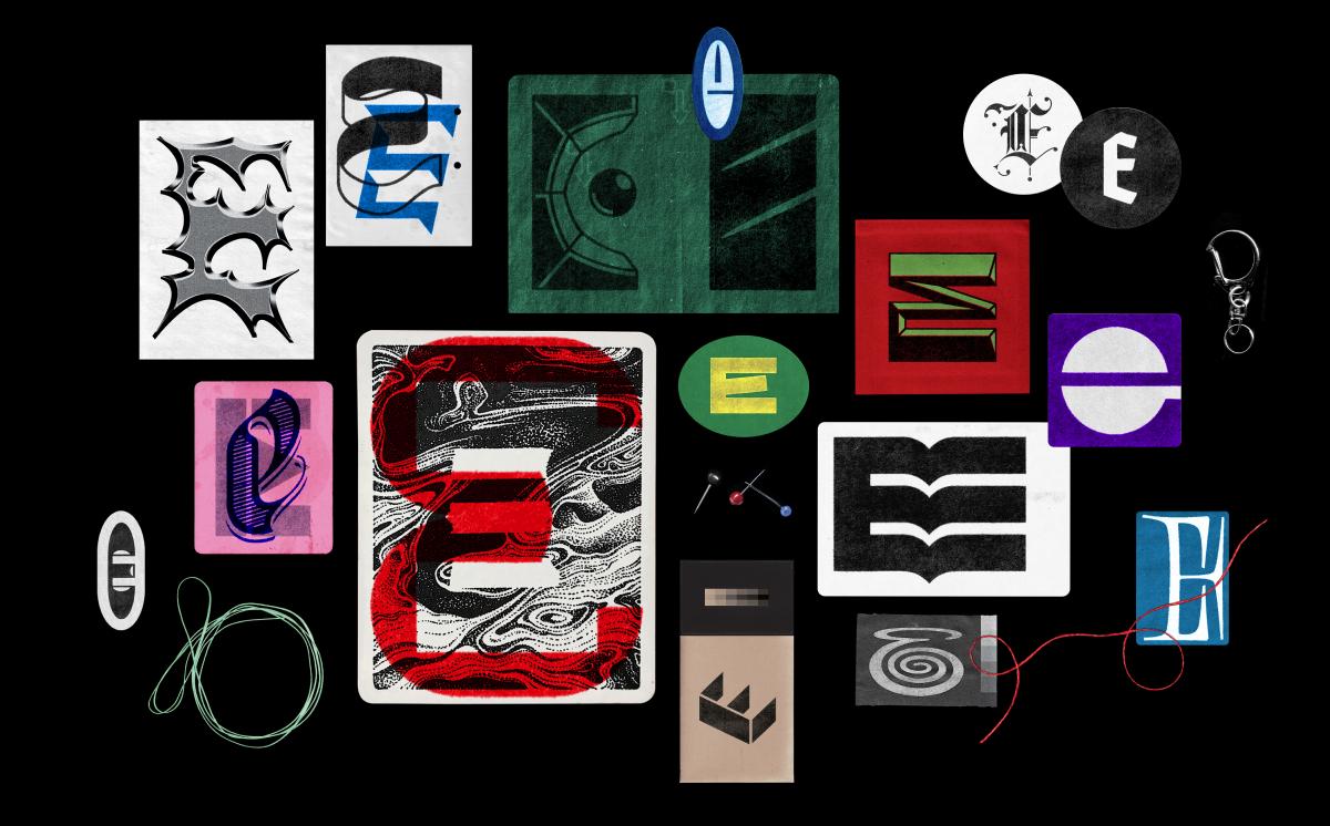 Sketchbook samples 'E'