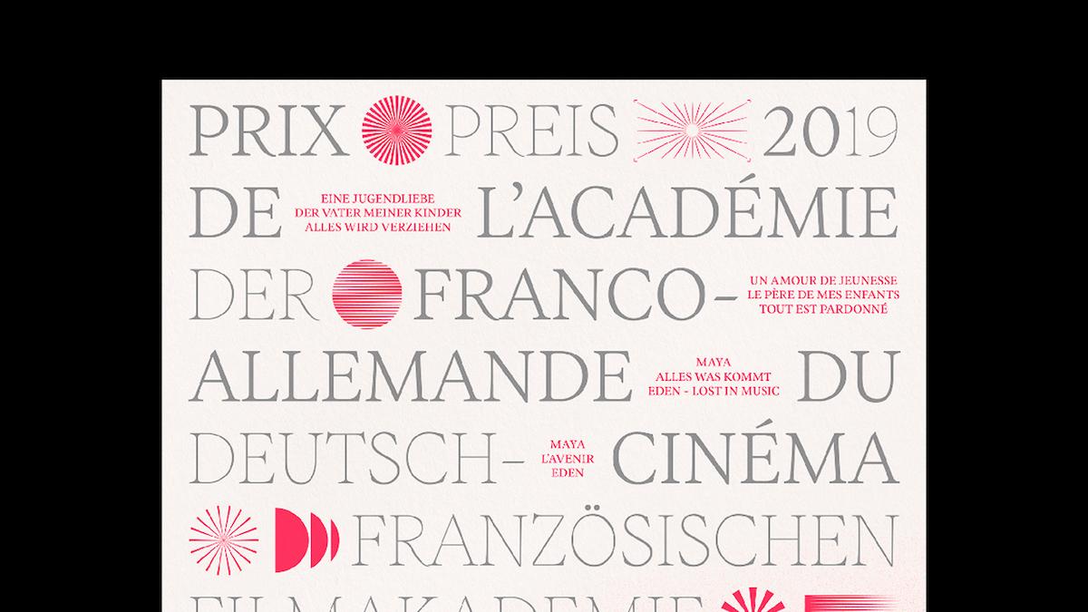 Blaze Type's Inferi font in-use, poster design  by Nicolas Turki Duchesnay.