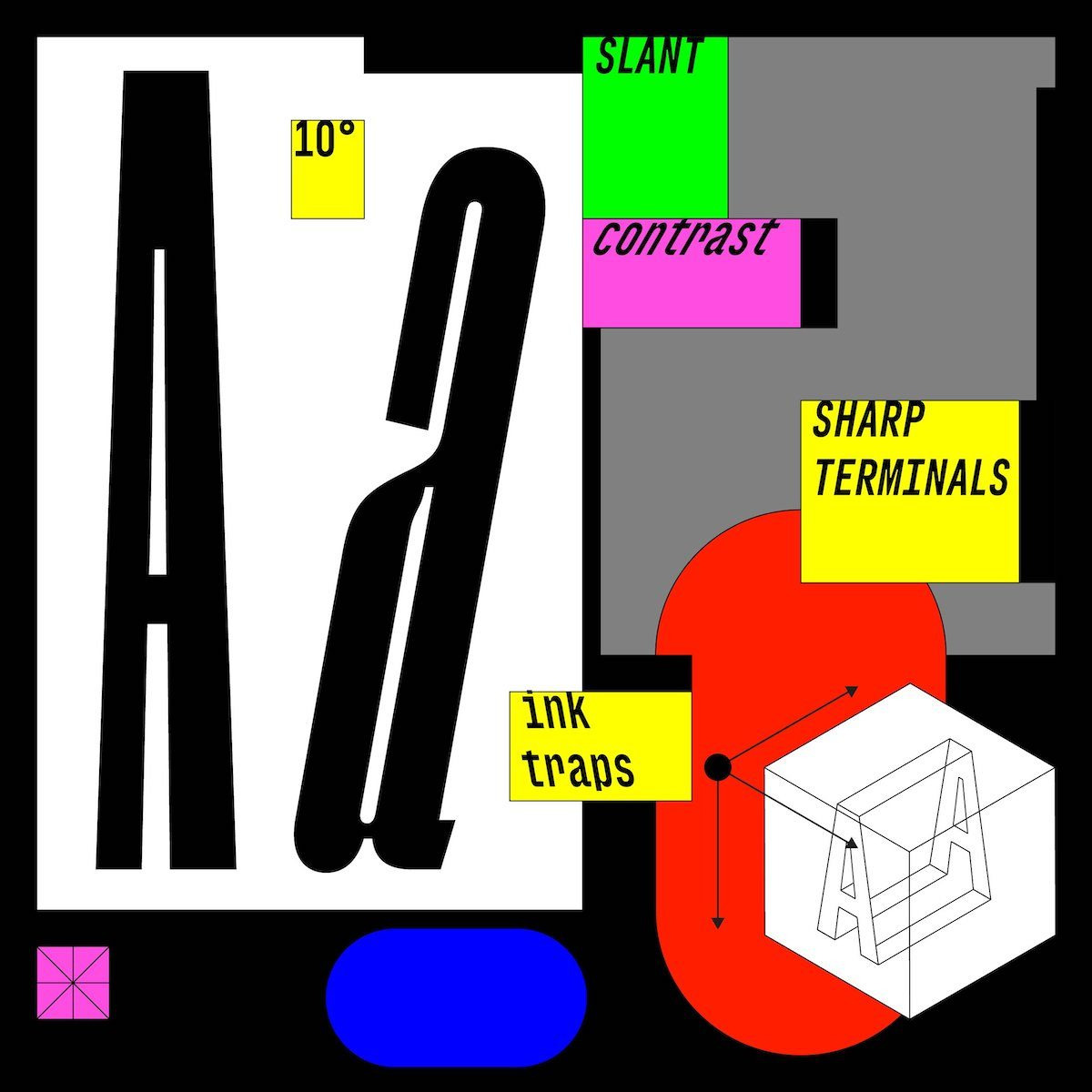 Segment B Typeface - Narrow