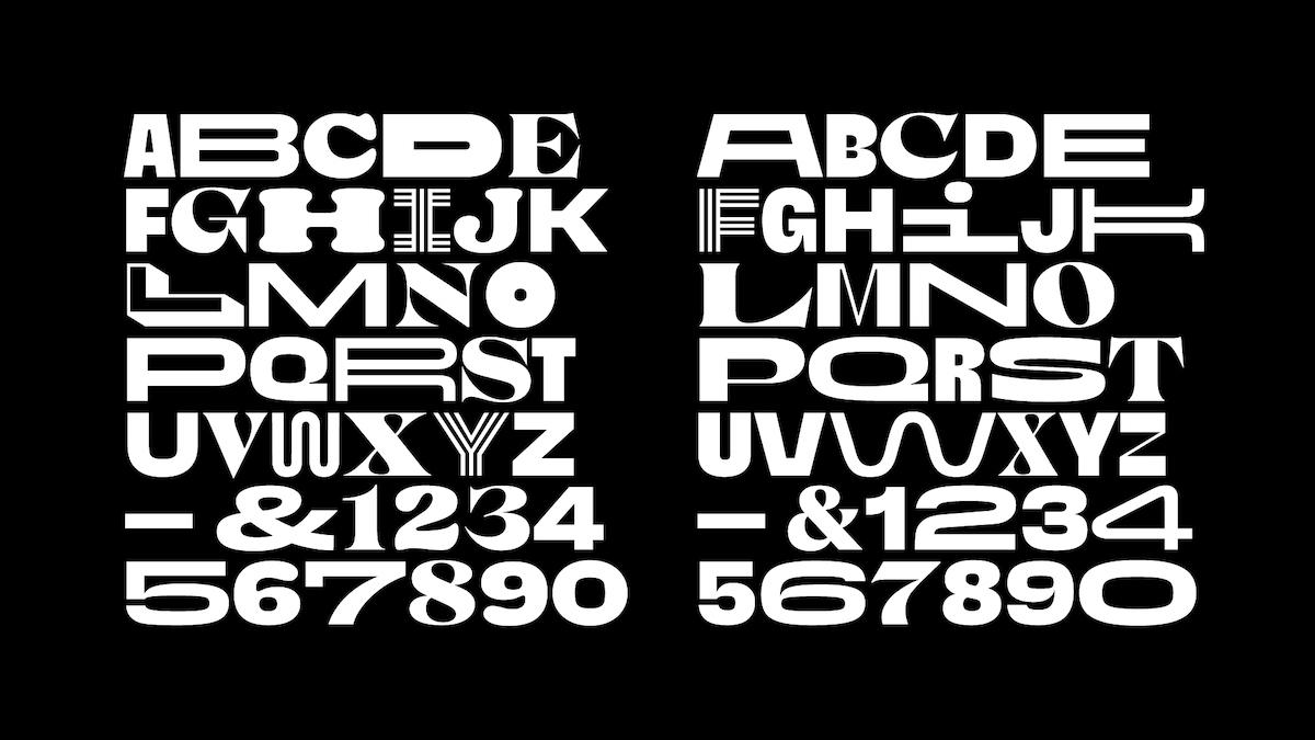 Canal Brasil custom variable font