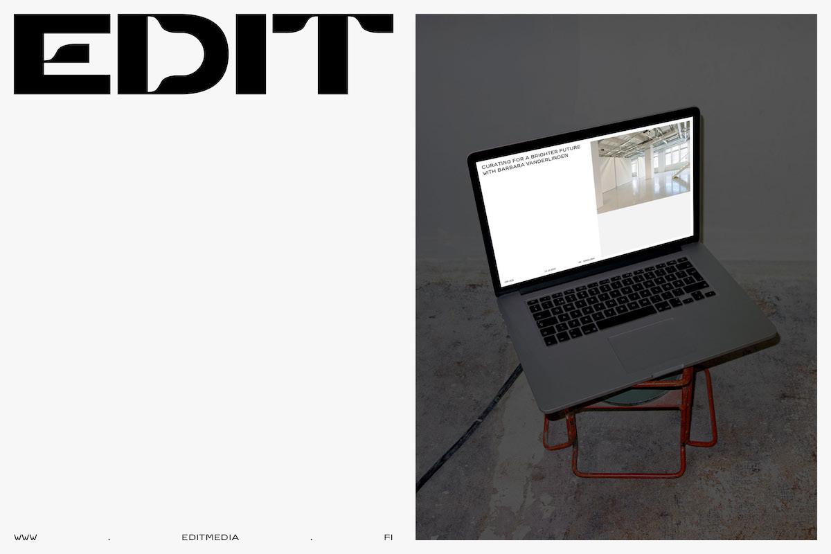 Edit journal logo & web design project