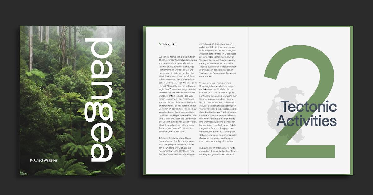 Pangea Multi-Script Typeface Graphic