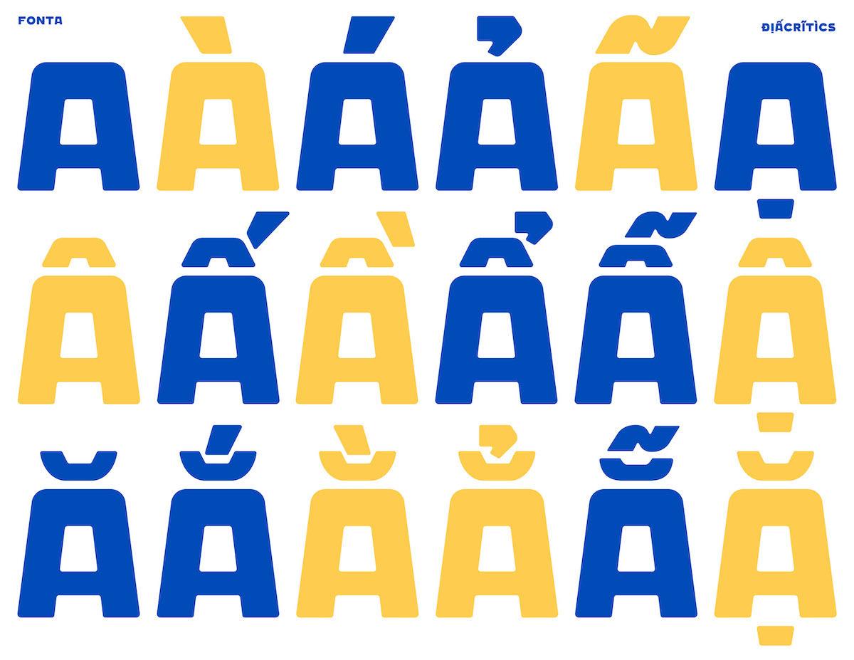 M — Associates' rebrand graphic for Guta Cafe