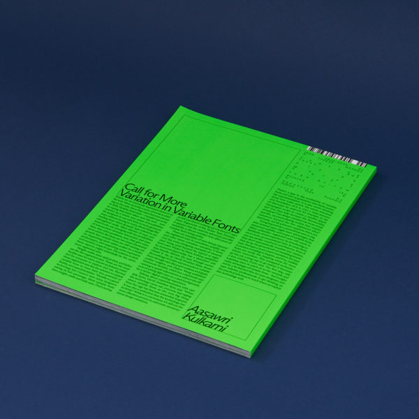 TYPEONE Magazine —Issue 02