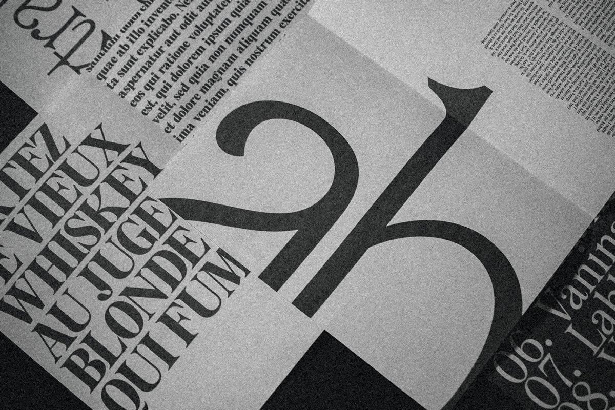 Type by Freelance Type Designer Bouk Ra