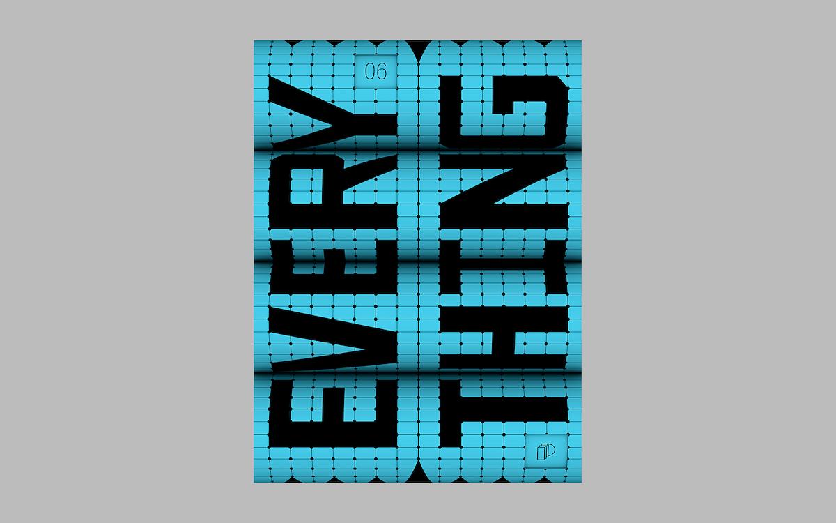 Poster design for Post-print AR/Graphic Design poster exhibition by Serafim Mendes & Mecha Studio.