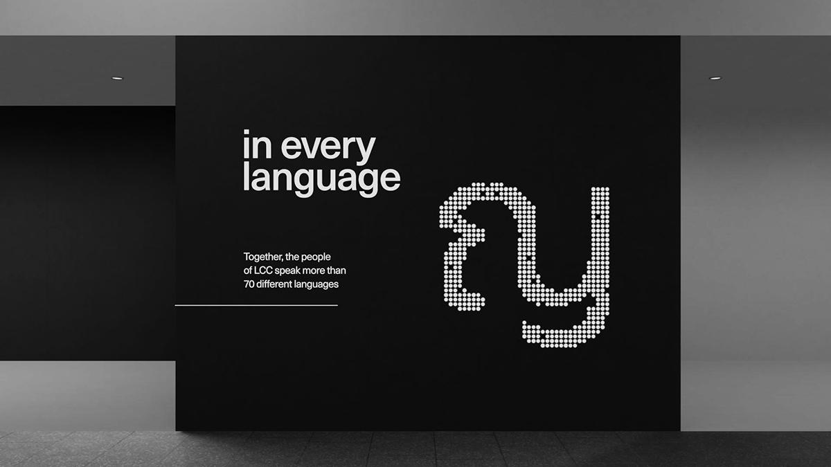 Multi-script type from Filipe Peregrino's The Languages Around Us
