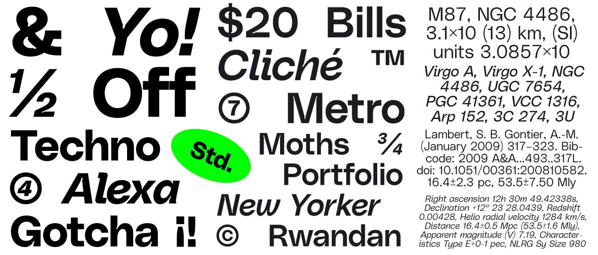 Okay! Serif – New typeface from Gradient